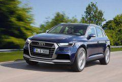 Audi Q5 2017 модельного года получит новый интерьер и двигатели