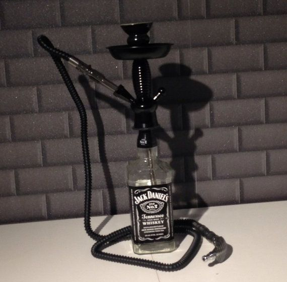 Jack Daniels 1L Bottle Hookah - Shisha - Mya Fumo Lavoo.  come on how sick is that