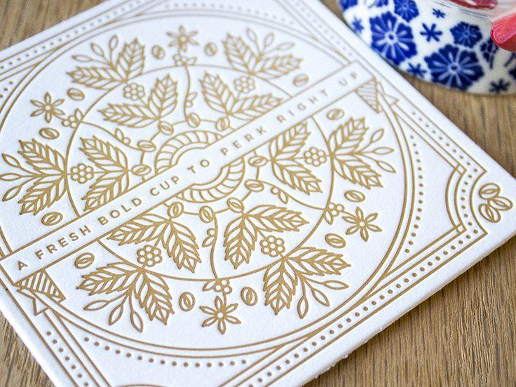 Best 25+ Coaster design ideas on Pinterest | Letterpress, Unique ...