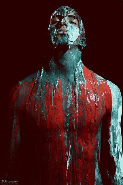Extasis   By D.Wormboy - Daniel Torres Storni Fotografía   Model: Ezequiel #paint