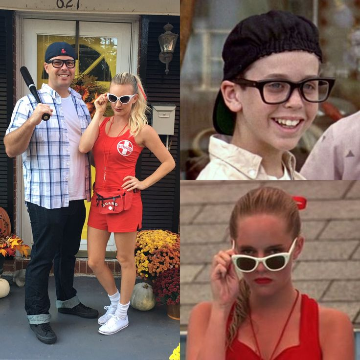 the sandlot squints and wendy costume for kids