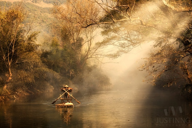 A fisherman taken in Yang Jia Xi village in Xiapu, China