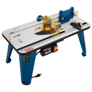 Ryobi 32 in. x 16 in. Universal Router Table-A25RT02 at The Home Depot