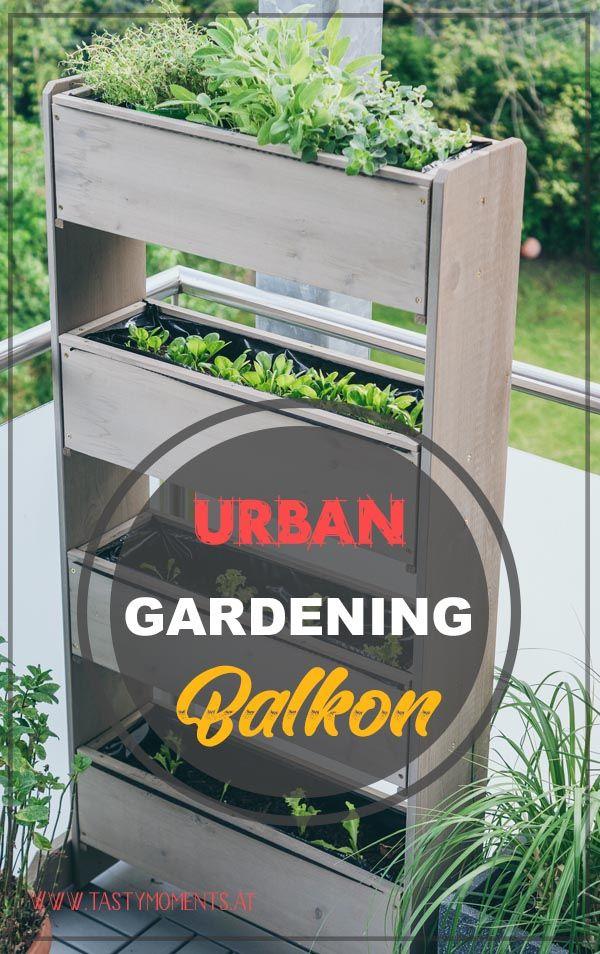 Urban Gardening Gardening Vertikalbeet Einfach