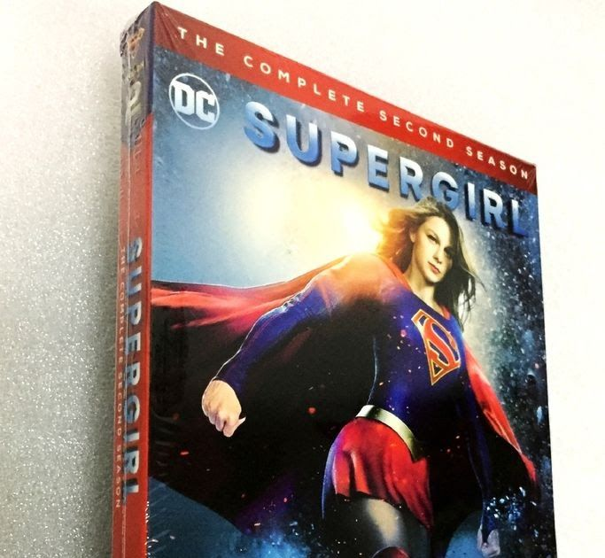 Supergirl: The Complete Second Season 2 (DVD 2017 5-Disc Set) NEW US RELEASE!