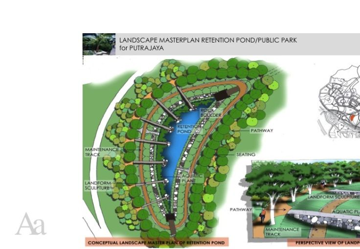 17 best images about sustainable design on pinterest for Design of retention pond