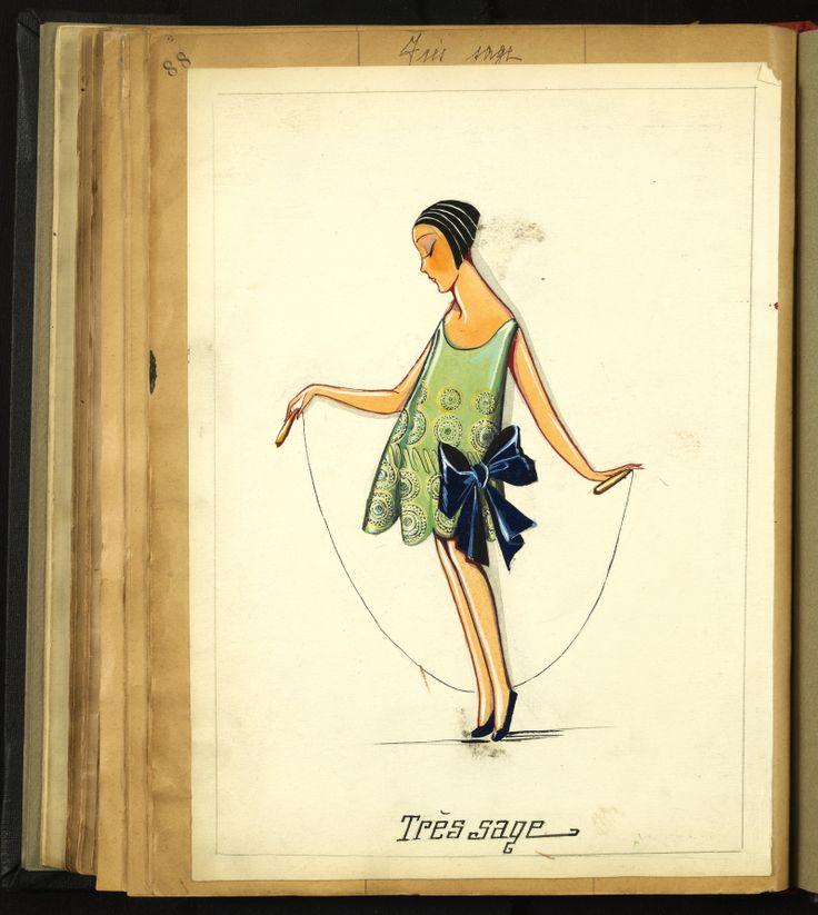 TRES SAGE   1924 © Patrimoine Lanvin. #Lanvin125