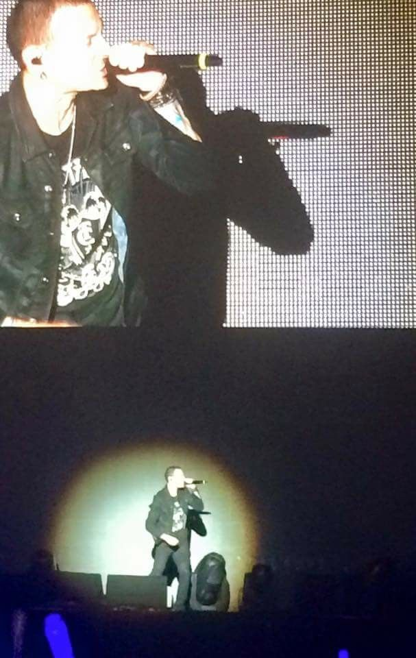 Chester Bennington at Rock in Rio 2015 in Las Vegas! I'll never forget this concert! RIP!