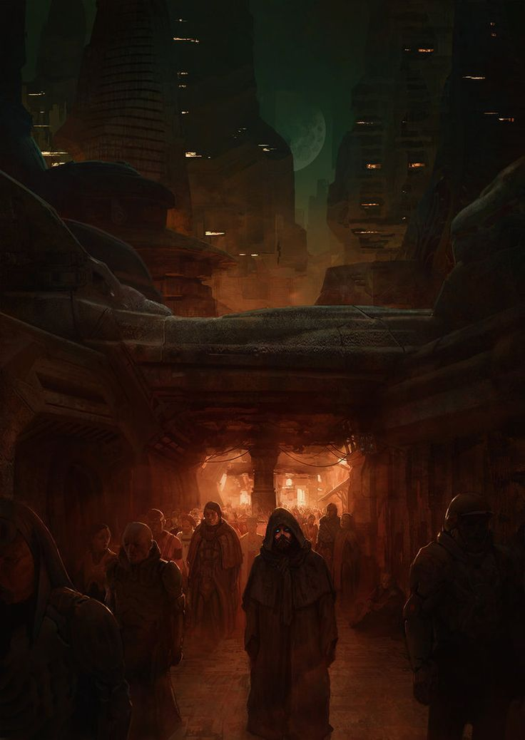 The emperor in the streets of Arrakeen by MarcSimonetti.deviantart.com on @DeviantArt