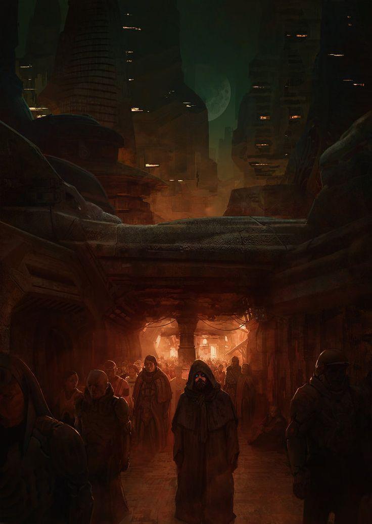 The emperor in the streets of Arrakeen by MarcSimonetti.deviantart.com on @DeviantArt