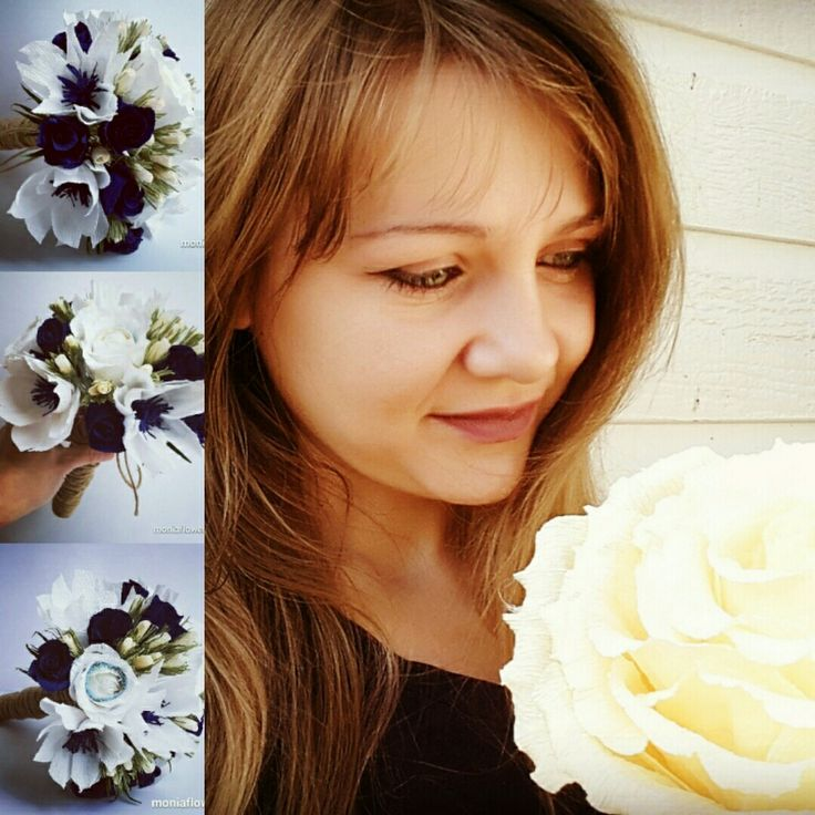 Blue Wedding Bouquet ❤