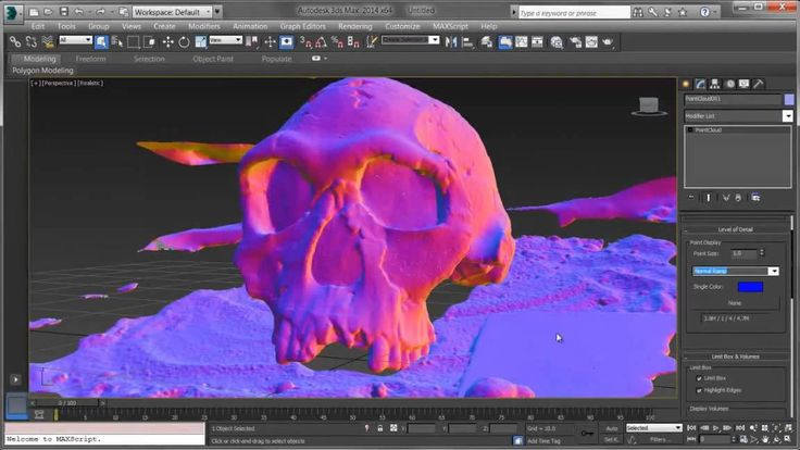 3ds Max - Point Cloud Support video