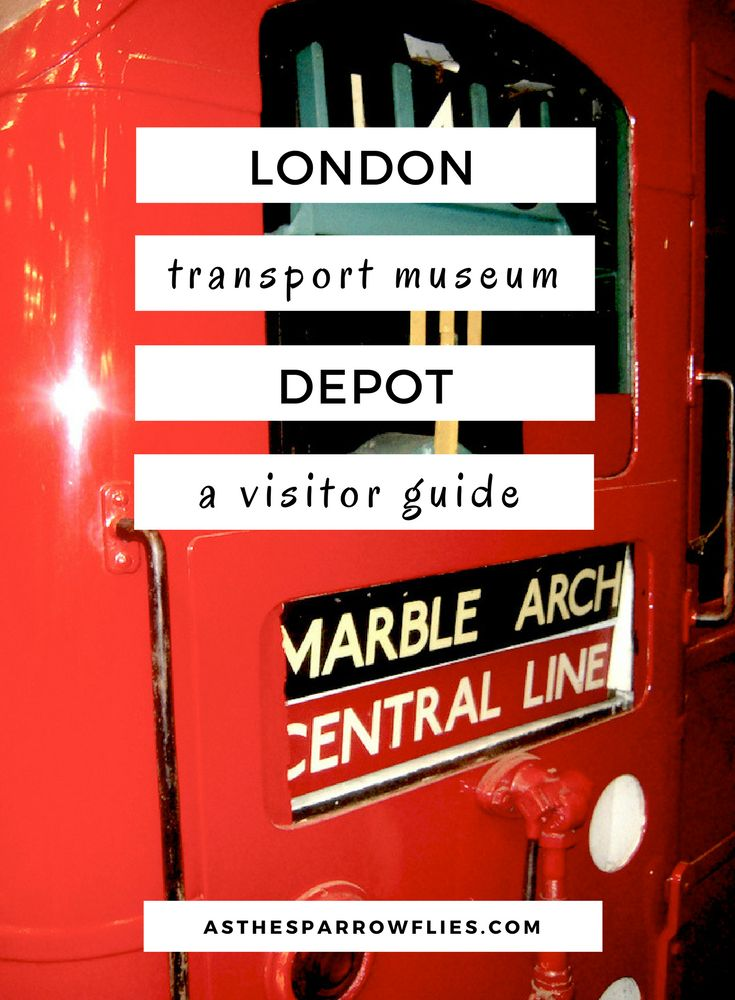 London Transport Museum Depot - A Quirky London Day Out.