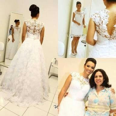 20 besten Vestidos de noiva Bilder auf Pinterest | Hochzeitskleider ...