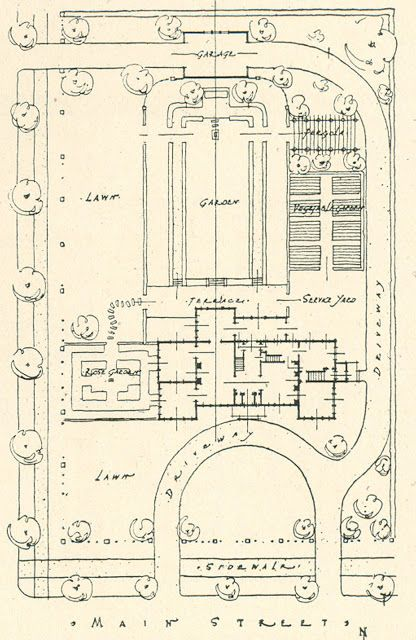 Architectural Plans for Mr. Blandings' Type Dream House ...