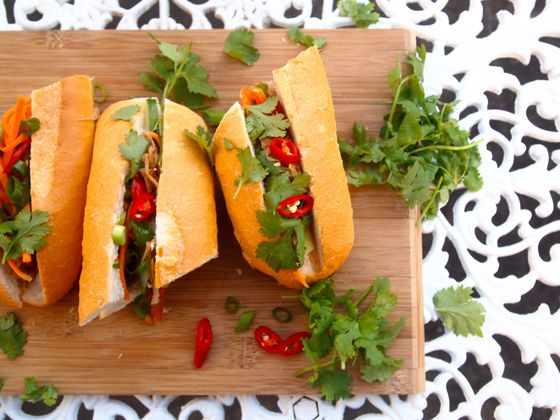 Banh Mi is a summer favourite, get stuck in to my Jackfruit Banh Mi recipe!