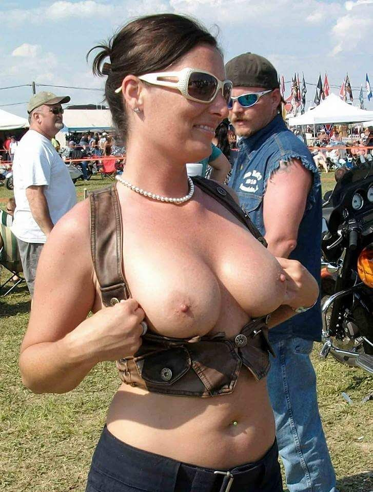 daily flasher biker titties