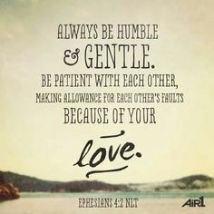 ephesians 4:2-3 - Google Search