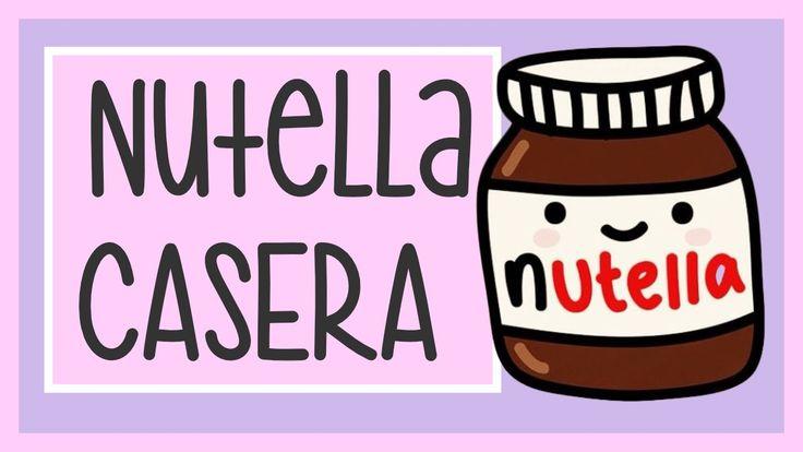 Cómo hacer Nutella Casera - Con Solo 4 Ingredientes!