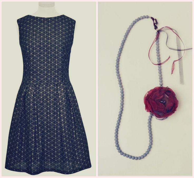 ♥Με ρομαντική διάθεση..! http://www.helmi.gr/φορεμα-χαμογελο-τρυπητο-λουλουδι-πιετεσ-κατω http://www.helmi.gr/κολιε-μπουτουνιερα