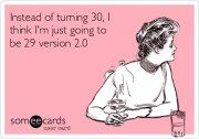 The joys of being an ALMOST 30 year old #ageing #turning30