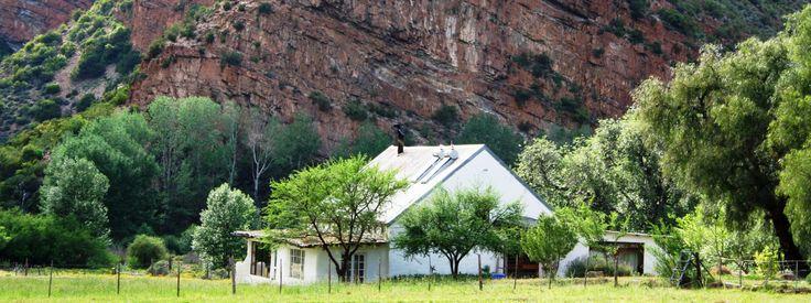 Red Cliffs Farmhouse - Baviaanskloof