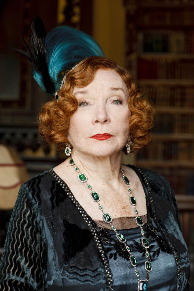 Downton Abbey Series 3, Episode 1; Shirley MacLaine as Martha Levinson, Cora's mother: