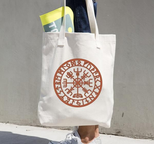 Vegvisir - Reusable Shopping Tote Bag