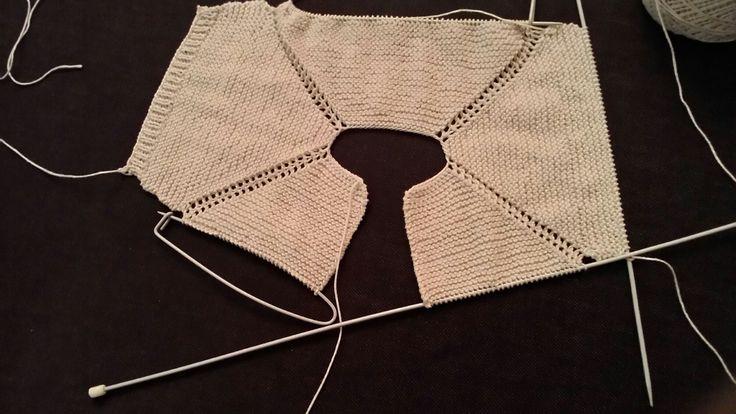 Como hacer un pelele tejido y con bombacha de tela, paso a paso