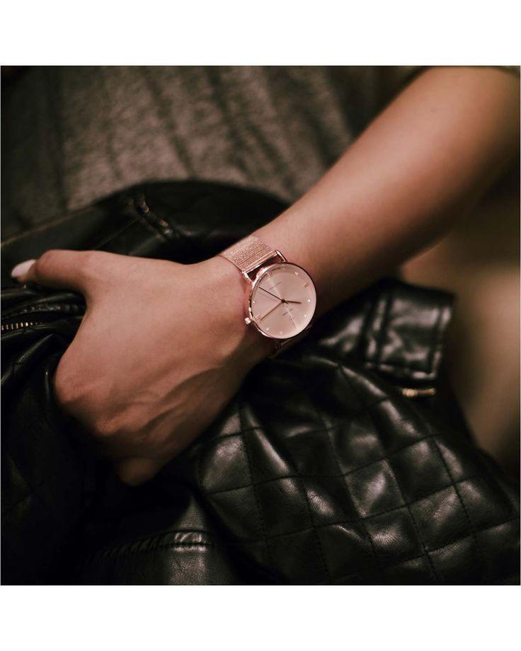 NICK CABANA Boheme Rose Gold Mesh 40mm Metallic Bracelet Κωδικός NC004