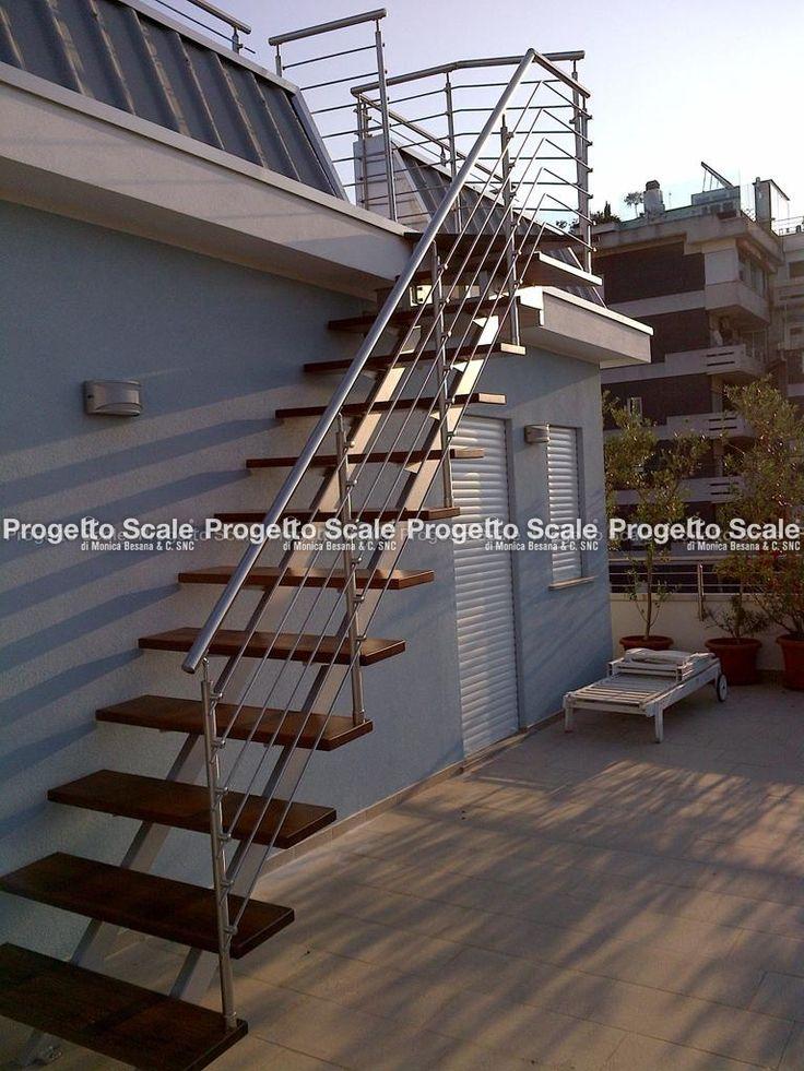 Oltre 25 fantastiche idee su scale esterne su pinterest ringhiere per terrazze scale da - Scale a rampa ...