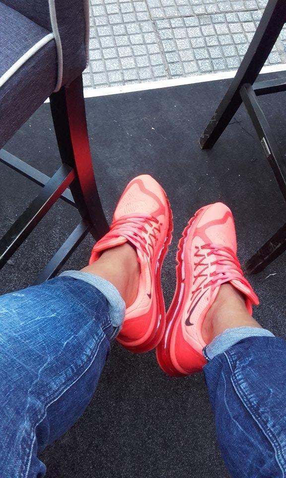 Glowing Nikes ???