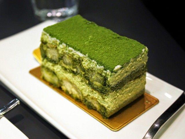Tiramisu de te verde