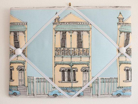 Australian terrace house handmade fabric business by freshdarling