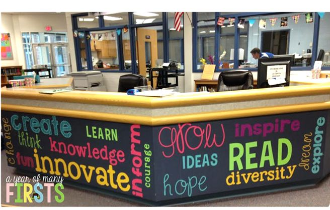 Great idea for the library...includes the fonts used