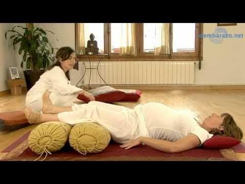 Yoga embarazadas. Ejercicios para el día del parto.