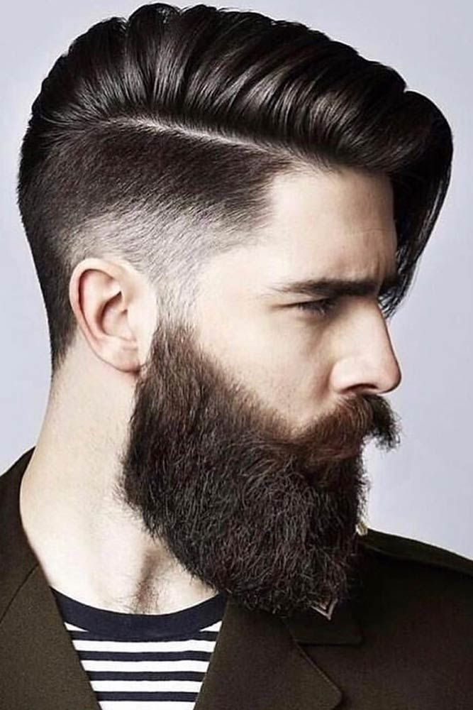 95 Trendiest Mens Haircuts And Hairstyles For 2020 Lovehairstyles Com Side Hairstyles Beard Styles Mens Hairstyles