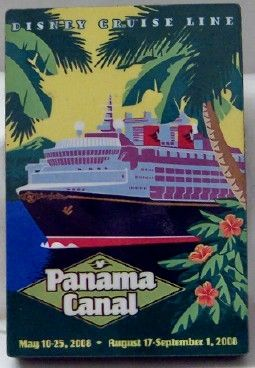 Disney Cruise Line Panama Canal Magnet New $9.99