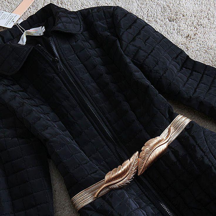 2016 дамы знатных тиснением цимозных большой юбка женская одежда зимняя верхняя одежда ватные куртки длинная женская хлопка ватник купить на AliExpress