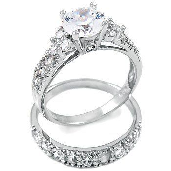 choosing the perfect cubic zirconia engagement rings has a real - Cubic Zirconia Wedding Rings That Look Real