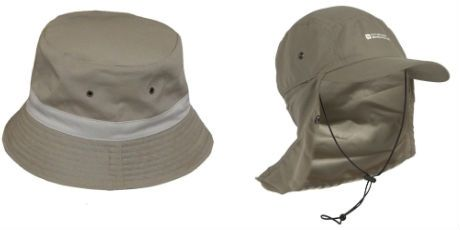 SLAP on a hat and keep your face and neck safe. Wide brim hats are prefered.