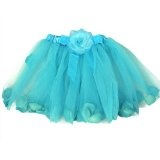Fairy Rose Turquiose Blue Ballet Tutu Perfect Dress up Tutus
