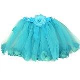 Fairy Rose Turquiose Blue Ballet Tutu Perfect Dress up Tutus