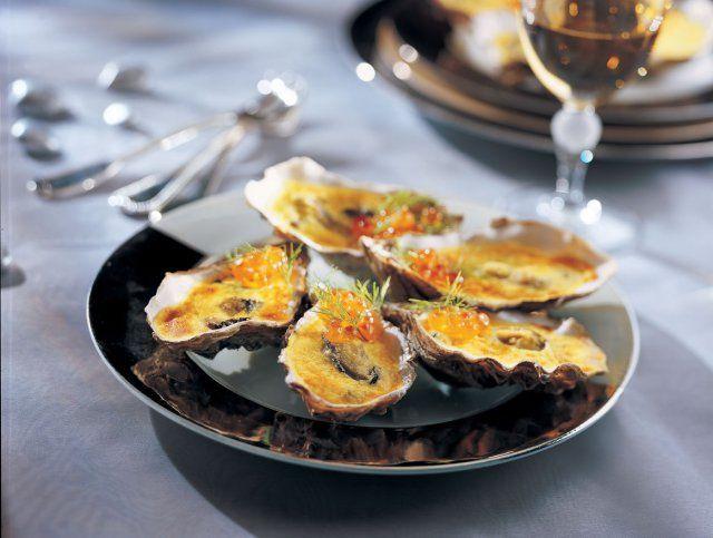 Hu tres gratin es au sabayon de champagne recette cuisine au champagne huitre gratinee - Cuisine au champagne ...