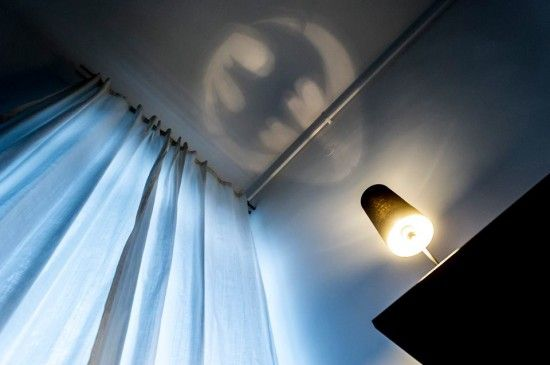 Ikea hack Batman sign