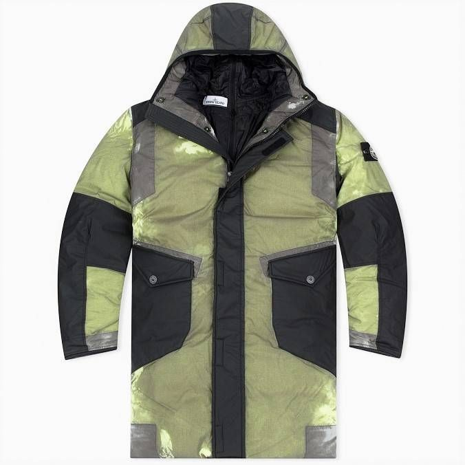 Stone Island Resin-T Shell Down Ice Size xxl - Heavy Coats for Sale - Grailed