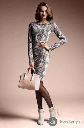 модные платья осень-зима 2013-2014 фото
