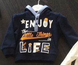 #baby #jongens #shirt #blauw #enjoythelittlethingsinlife www.kieke-boe.nl