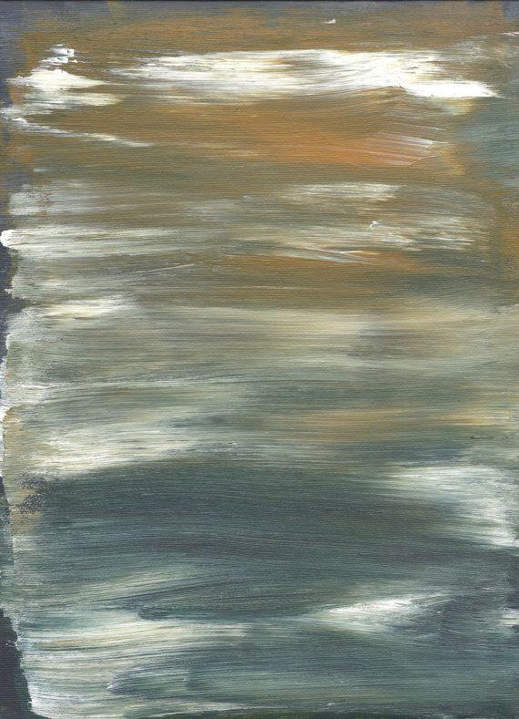 Dark Light, Original Painting, Acrylic on Canvas Sheet
