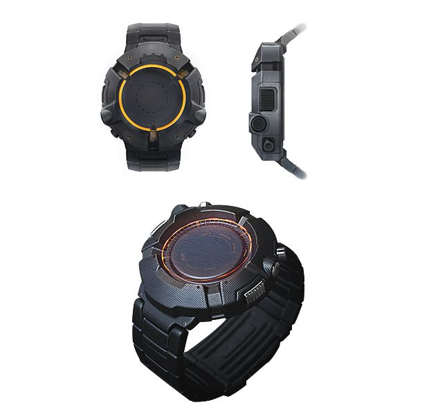 Tom Clancy the Division Smart Watch Concept Art